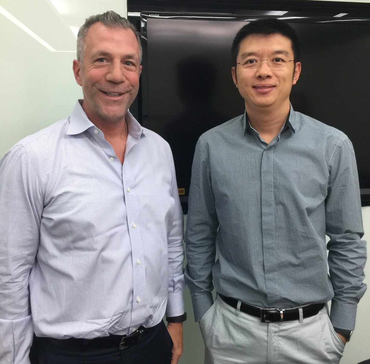 Mark Schlarbaum Meeting in China