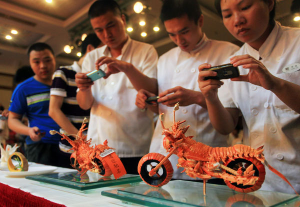 China wants Lobster by Mark Schlarbaum